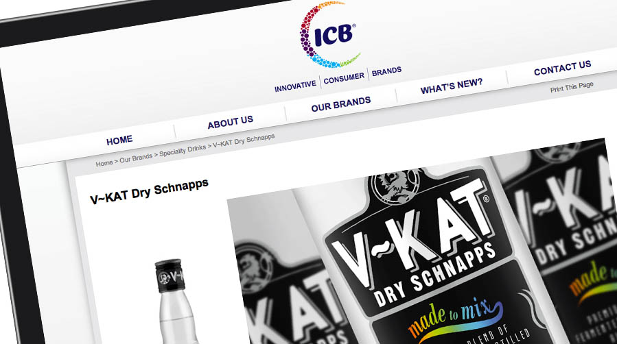 <b>Putting the fizz into ICB</b><br><br>Intercontinental Brands wanted a lively new brand identity and a website to capture their energetic spirit and embody their 'fun, boldness and energy'.